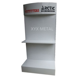 Metal Machine Tools Exhibition Pegboard Display Rack pictures & photos