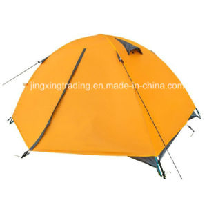 100% Polyester Double-Layer Camp Tent for 1-2 Persons (JX-CT025-1) pictures & photos