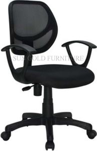 Black Mesh Fabric Office Chair (SZ-OC013) pictures & photos