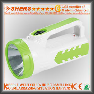 Rechargeable 1W LED Flashlight with 18 LED Reading Light (SH-1952) pictures & photos