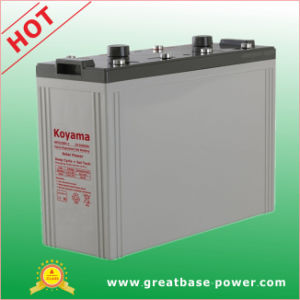2V Solar Power System Battery Deep Cycle Battery Gel Battery 1000ah pictures & photos