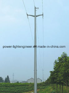 HDG Power Line Steel Poles