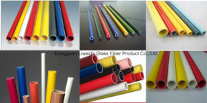 High Temperature Resistant GRP Fiberglass FRP Pole/Pipe/Tube
