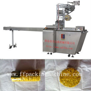 Full Automatic X-Folded Envelope Type Biscuit Overwrapping Machine pictures & photos