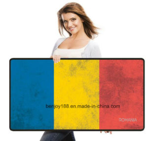 Hot Selling High Quality National Flag Extended Gaming Mousepad pictures & photos