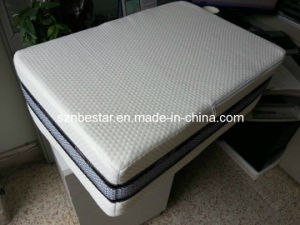 Simple Memory Foam Mattress, Without Spring, with Zipper Deign (MF501) pictures & photos
