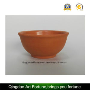 Outdoor-Natural Clay Ceramic Bowl Large pictures & photos