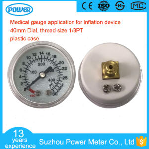 1.5inch 1.5′′ Plastic Case 30ATM Medical Gauge for Inflation Device pictures & photos