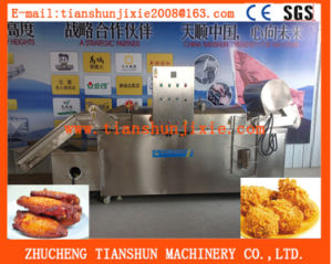 Automatic Continuous Fryer Chiken Potato Snaks Frying Tszd-50 pictures & photos