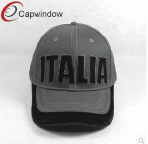 6 Panel Grey Denim Fashion Baseball Cap pictures & photos