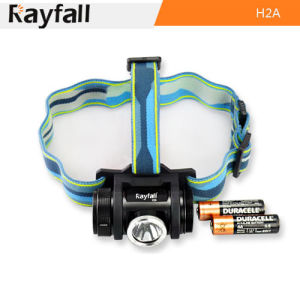 Rayfall Best LED Headlamp with 2 AA Battery (Model: H2A)