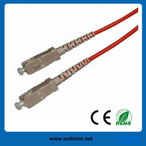 Sc Multimode Duplex Fiber Optic Patch Cord pictures & photos