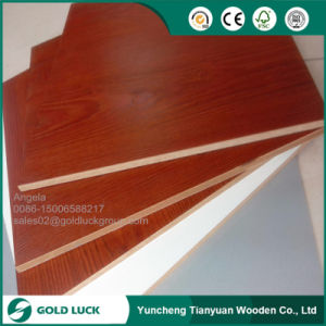 Direct Factory Sale 15mm MDF with Melamine Face pictures & photos