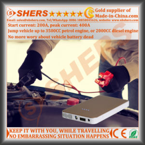 Mini Jump Starter LED Emergency Lamp USB Output pictures & photos