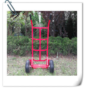 Red Color Hand Cart Hand Trolley (HT1830) pictures & photos