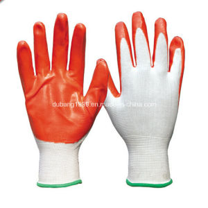 Disposable Nitrile Gloves Work Glove in Malaysia pictures & photos