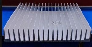 220mm Width Aluminum Profile Heat Sink 220mm*40mm*100mm Length Can Custom-Made pictures & photos