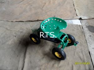 Rolling Garden Seat Cart pictures & photos