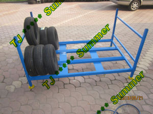 Foldable Truck Tire Storage Rack pictures & photos