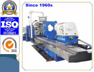 Professional 3 Meters Length CNC Lathe for Turning Train Wheel Set (CG61160) pictures & photos