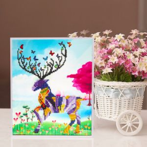 Factory Direct Wholesale Children DIY Embroidery Cross Stitch K-127 pictures & photos