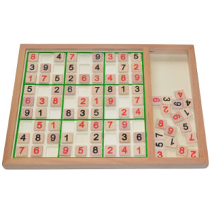 Wooden Sudoku pictures & photos