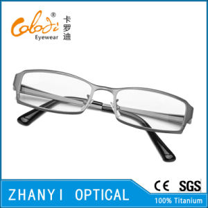 High Quality Full-Frame Titanium Optical Glasses Frame Eyeglass Eyewear (A1108-EW) pictures & photos