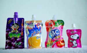 Customized Stand up Gusset Spout Food Pouch for Jelly Juice pictures & photos
