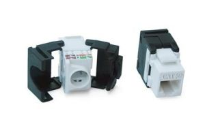 High Quality Cat5e/Cat6RJ45 Electrical Module