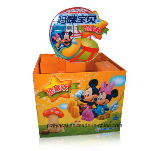 Offset Printed Cube Display Stand, Cardboard Pallet Display for Toys pictures & photos