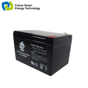 12V 4ah Rechargeable Sealed Lead Acid UPS Battery pictures & photos