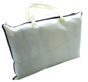 PVC and Non Woven Pillow Packaging Bag pictures & photos