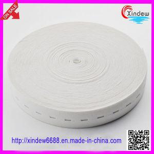 Clothing White Elastic Tape (XDWK-004) pictures & photos