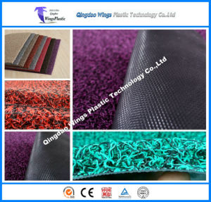 PVC Car Mat Carpets for Cars with Spike Backing in Roll pictures & photos