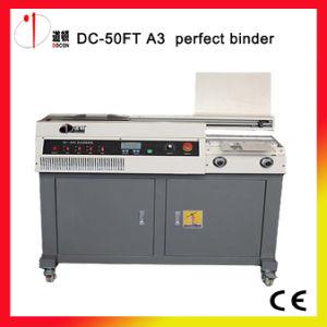 DC-50et A4 Size Automatic Glue Book Binder Machine