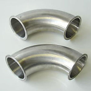 3 Inch Stainless Steel Food Grade 3A Triclamp Elbow pictures & photos