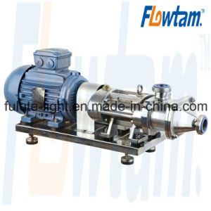 Sanitary Stainless Steel Twin Screw Pump for Solid Particles pictures & photos