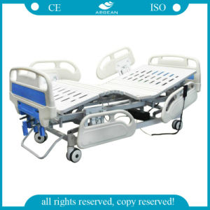 AG-By104 3-Function Manual and Electric ISO&CE Hospital Beds Price pictures & photos