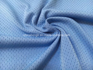 T/Sp 96/4, 190GSM, Single Jersey Bird-Eye Knitting Fabric for Sport Gament pictures & photos