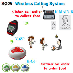 CE Approved 433.92MHz Wireless Calling System for Fast Food Service pictures & photos
