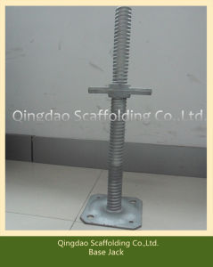 Adjustable Screw Galvanised Jack Base pictures & photos
