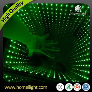 3D Mirror Abyss Dancing Panel LED Dance Floor Starlit Dance Floor for Stage Party Wedding Events Show pictures & photos