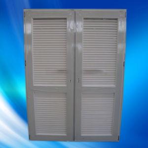 High Quality UPVC/PVC Shutter Door