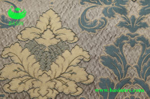 Jacquard Wrinkle Effect Curtain Fabric (BS1010) pictures & photos