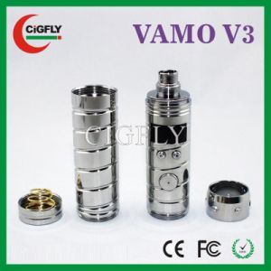 Newest Design Model Digital Variable 3-6V Voltage Battery 3-6V E Cig Vamo