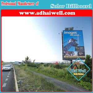 Solar Solution Outdoor Advertising Signage Billboard pictures & photos