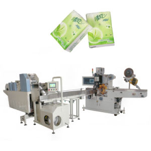 Handkerchief Paper Production Line Pocket Tissue Packing Machine pictures & photos