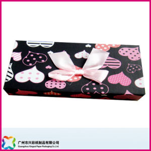 Unfoldable Cardboard Gift Box (XC-1-021) pictures & photos