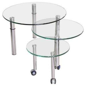 Round Tempered Glass Table Top pictures & photos