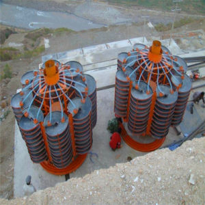 Gravity Spiral Separator with Fiber Glass Steel Material pictures & photos